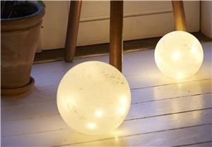 Sirius LED-Ball Glasslampe 15cm, batteri (382-70055)
