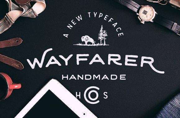 Wayfarer - Hand Drawn Font - Display