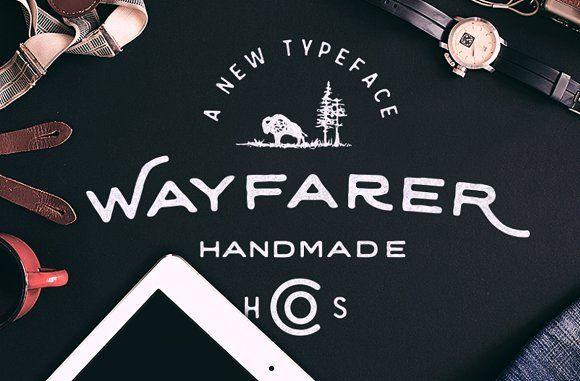 Wayfarer - Hand Drawn Font by Hustle Supply Co. on @creativemarket