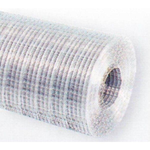 Svetsat nät som är ett extra styvt och starkt nät. Flera användningsområden som till höns och kaninburar.