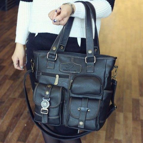 GET $50 NOW | Join RoseGal: Get YOUR $50 NOW!https://www.rosegal.com/shoulder-bags/stitching-pockets-dark-colour-shoulder-765221.html?seid=6384889rg765221