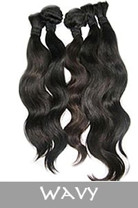 Wavy virgin hair