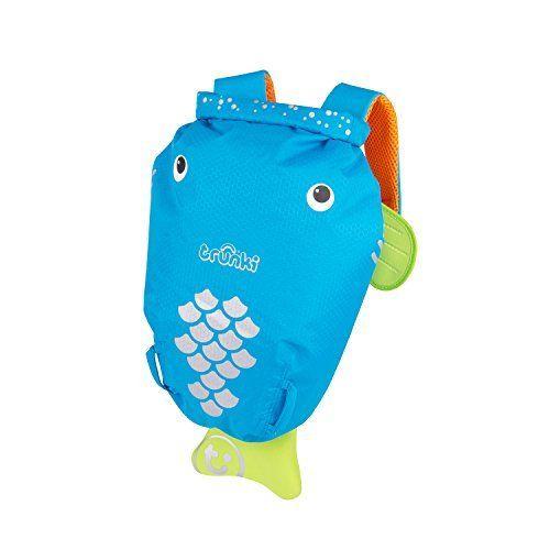 Trunki – 9220029 – Paddlepak – SacdeNatation– Imperméable – Bleu – 40cm: Paddlepak – Reise-Rucksack blue Descriptif produit: Trunki…
