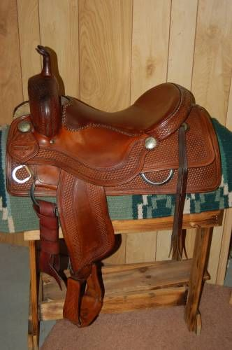 Sean Ryon Cutting Saddle for Sale with Buster Welsh Tree ...