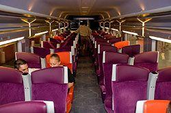 TGV-Est in der 2. Klasse