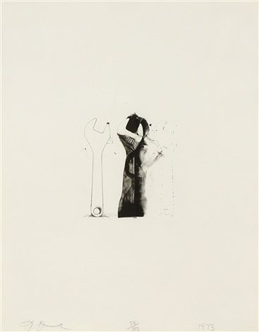 Ten Winter Tools (Crescent Wrench) by Jim Dine