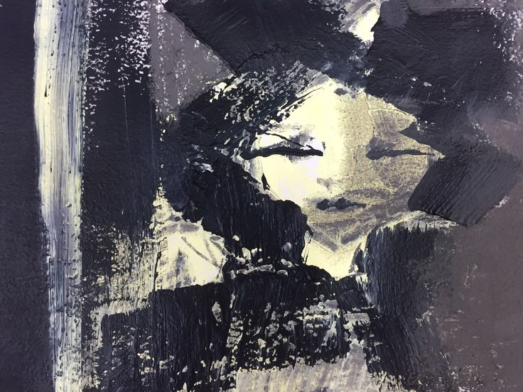 Detail of Girl with a doll. Version 1 - shadows.