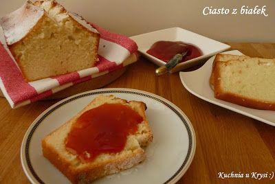Kuchnia u Krysi : Ciasto z białek