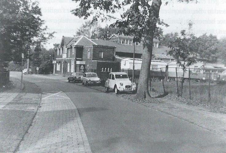Jonkerweg 32  1976, Winterstalling Circus Strassburger