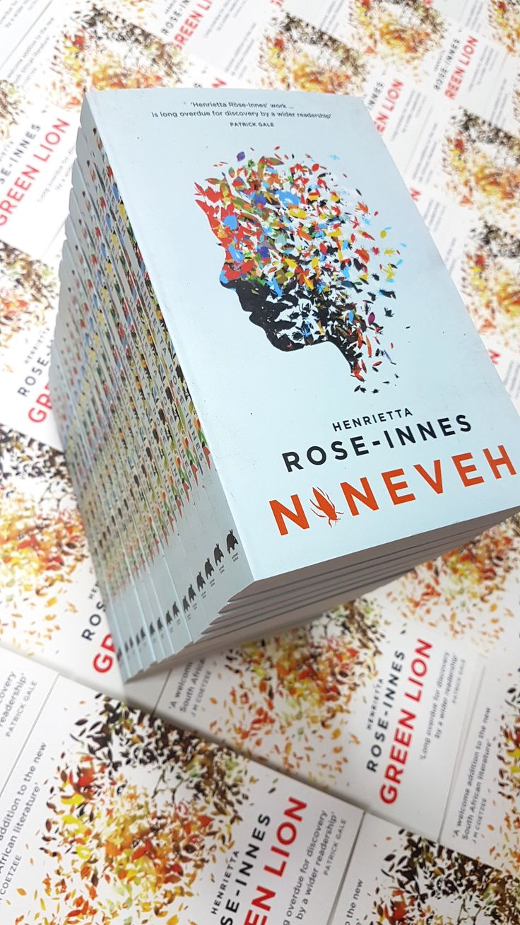 Proud publishers of Green Lion and Nineveh #bestreads  #southafrica
