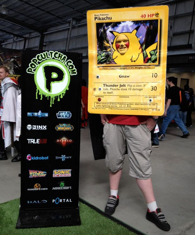 The Best Pokemon Card Costume You'll See All Day