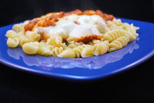 Quick Chicken Parmesan: Chicken Recipe