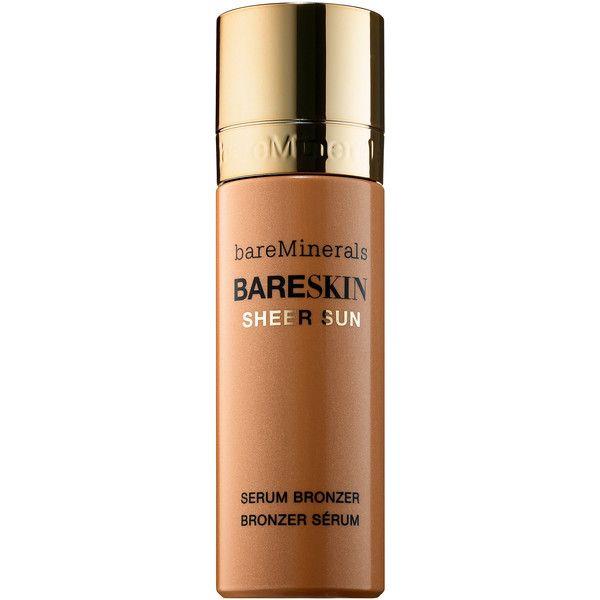 bareMinerals bareSkin® Sheer Sun Serum Bronzer found on Polyvore featuring beauty products, makeup, cheek makeup, cheek bronzer and bare escentuals