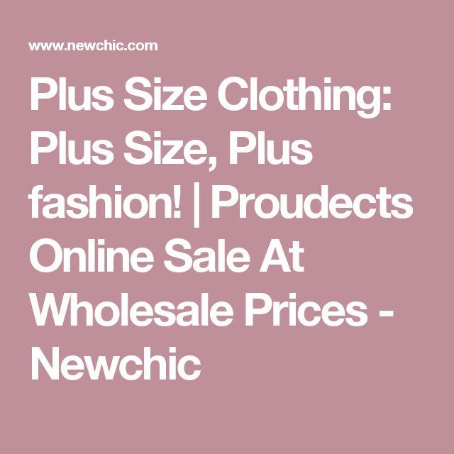 Plus Size Clothing: Plus Size, Plus fashion!   Proudects Online Sale At Wholesale Prices - Newchic