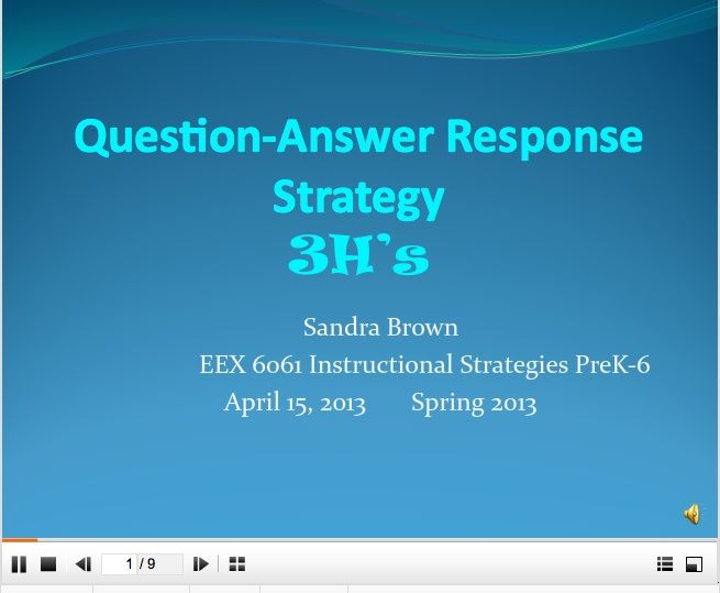 aces strategy for answering short answer response