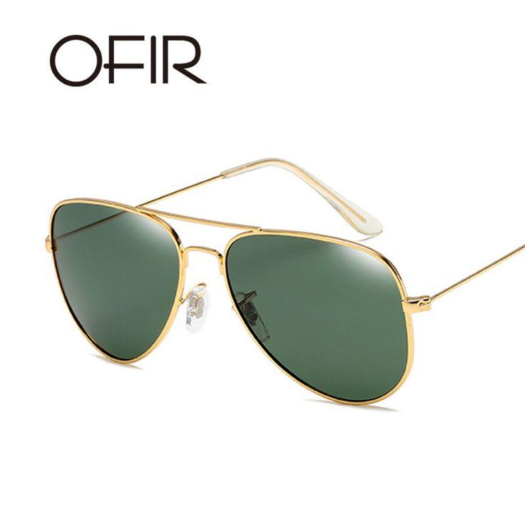 OFIR Pilot Polarized Sunglasses Men Women Toad New Outdoor Fashion Visual Reflective Metal Sun Glasses gafas piloto para hombre #Affiliate