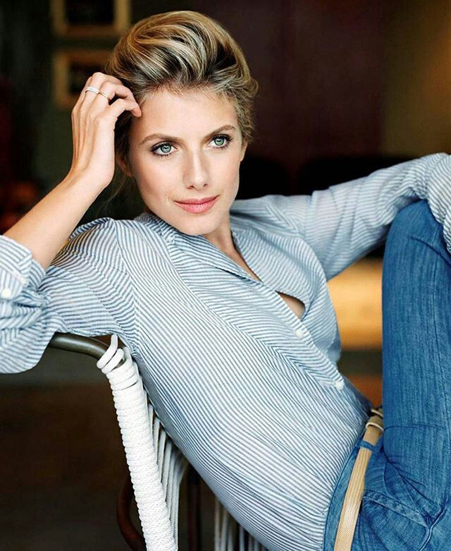 Mélanie Laurent #Melanie_Laurent #beauty #blond