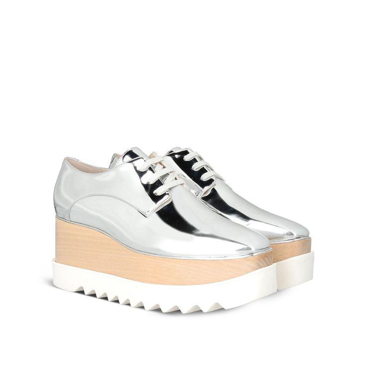 Chaussures argentées Britt STELLA MCCARTNEY - 670€ @StellaMcCartney