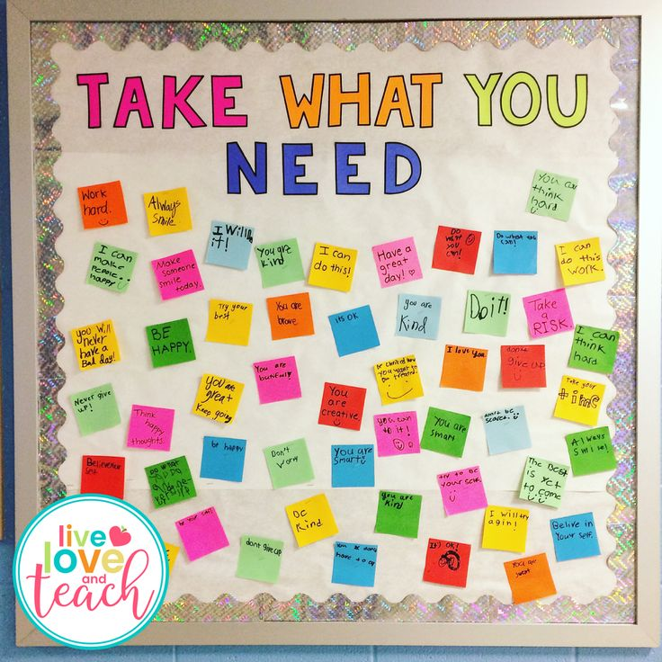 I received a lot of positive feedback on my newest bulletin board project: Take What You Need & Give What You Can, so I decided to writ
