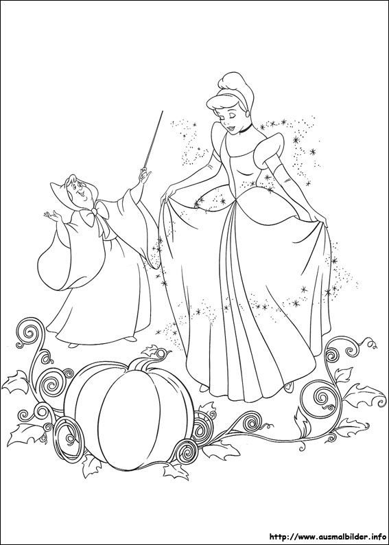 Aschenputtel Malvorlagen Cinderella Coloring Pages Coloring Books Disney Coloring Pages
