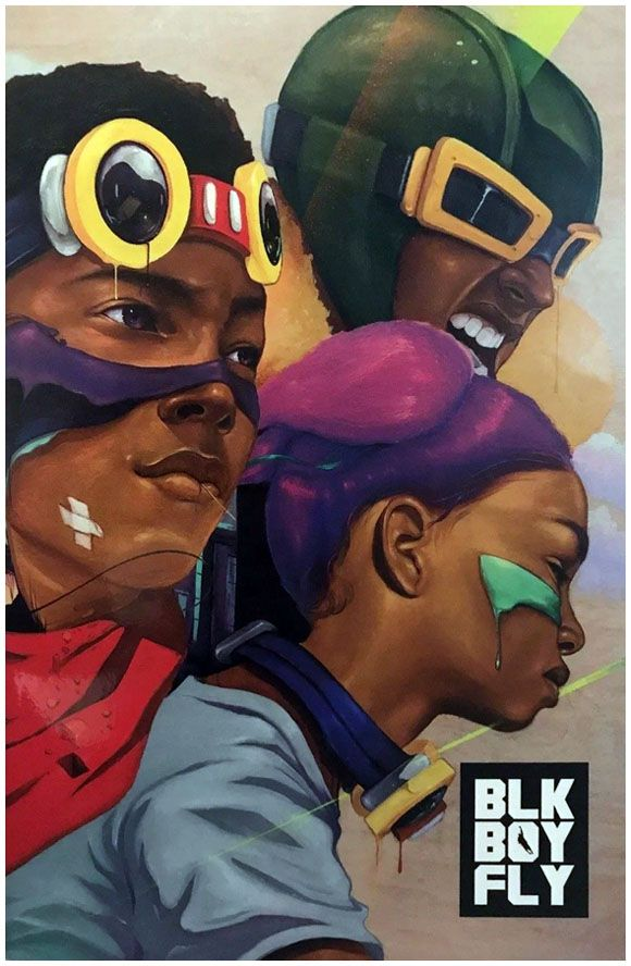 Black Boy Fly #1 Preview Edition (2017).  Click the pic and find out more...