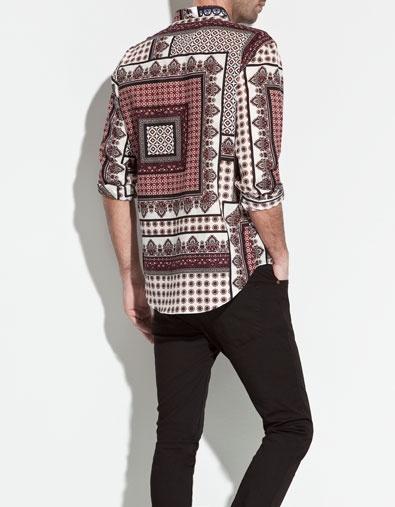 PRINTED SHIRT - Shirts - Man - New collection - ZARA United States