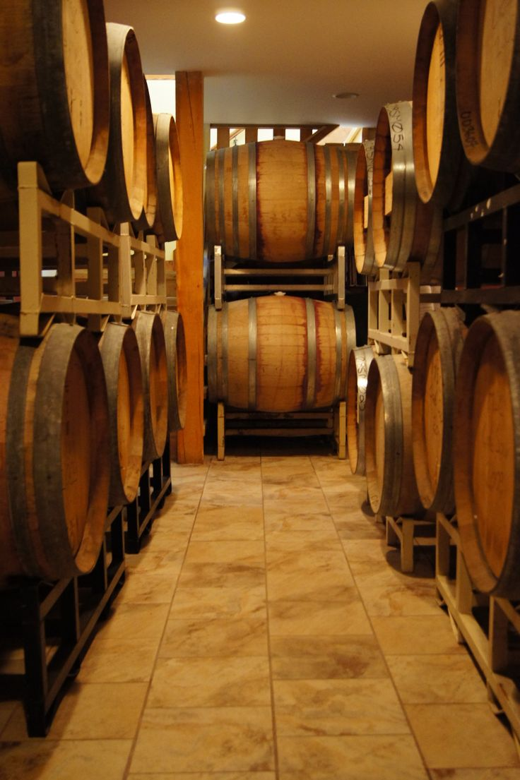The Barrel Room at Misconduct Wine Co. at www.girouxdesigngroup.com