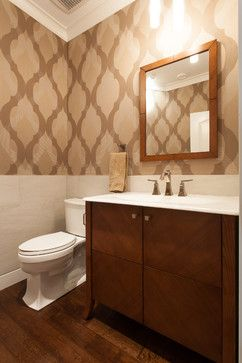 Oceanfront Craftsman - Custom Home - transitional - Powder Room - Vancouver - Kenorah Construction & Design Ltd