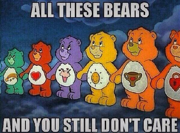 16 Funny Care Bear Memes With Images Top 20 Funniest Care Bear