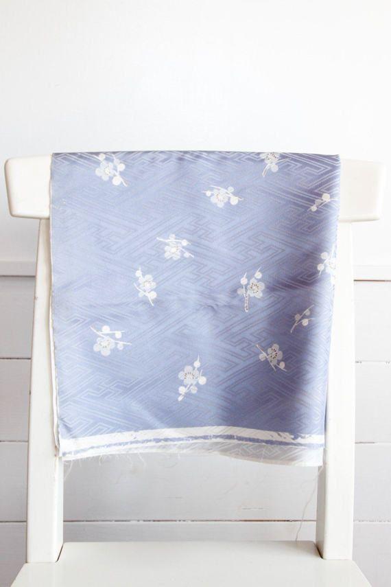 Pastel Purple Japanese Vintage Kimono Cutting Off by CJSTonbo