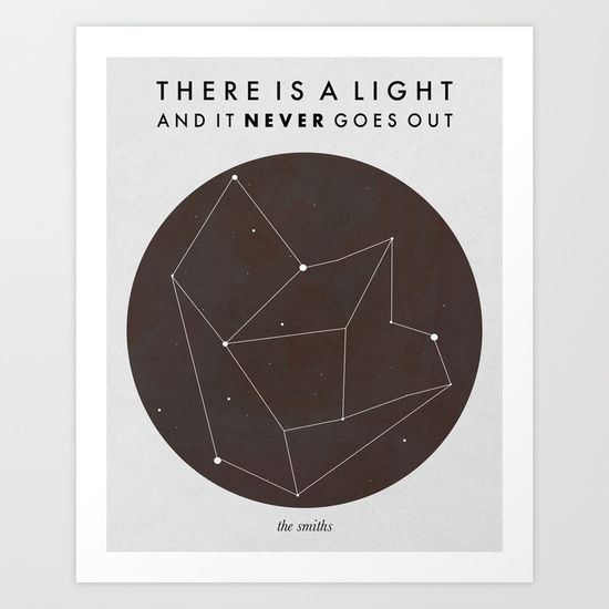 There+Is+A+Light+Art+Print+by+Nan+Lawson+-+$18.00