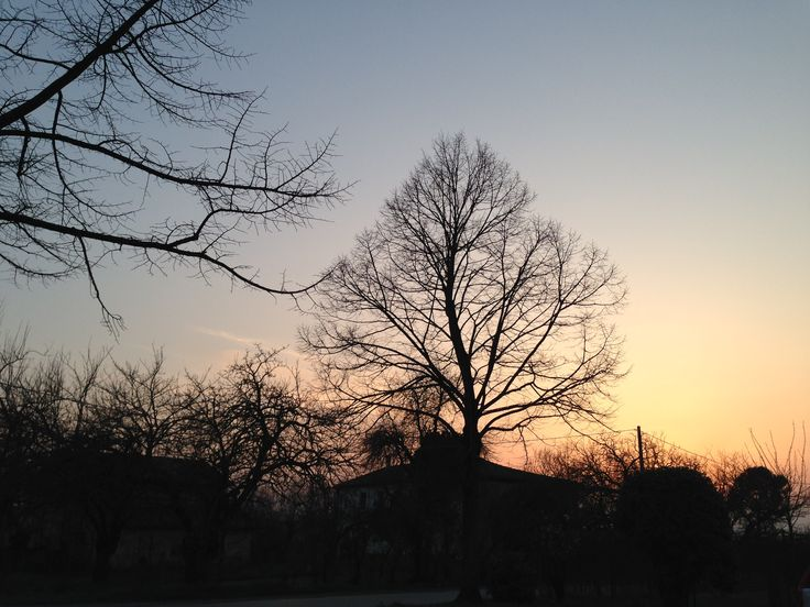 #Forlì #tramonto