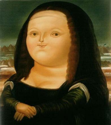 """""""Мона Лиза"""" Фернандо Ботеро (исп. Fernando Botero, р. 1932) – современный колумбийский художник. Биография, картины: http://contemporary-artists.ru/Fernando_Botero.html"""