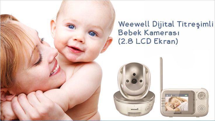 Weewell Dijital Titreşimli Bebek Kamerası