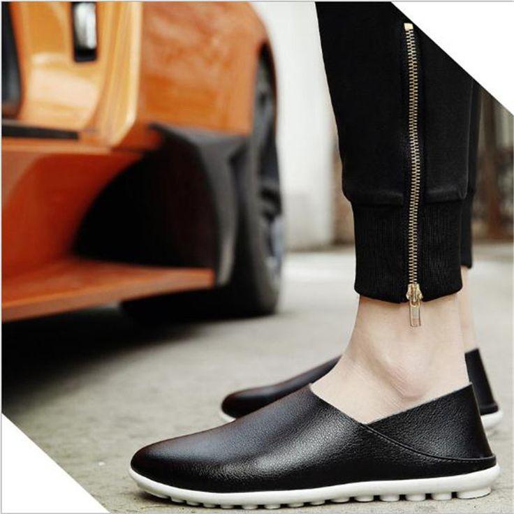 2017 spring summer elegant man leather loafers,brand designers mens shoes on sale,retro slip-on shoes boat flats wholesale