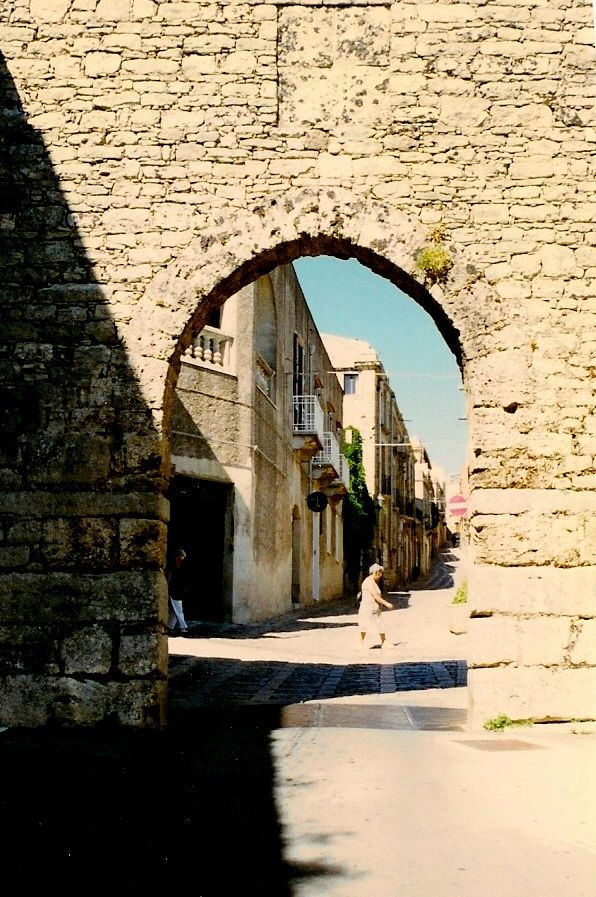 Entrance Gate to Erice