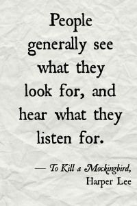 To Kill a Mockingbird quote