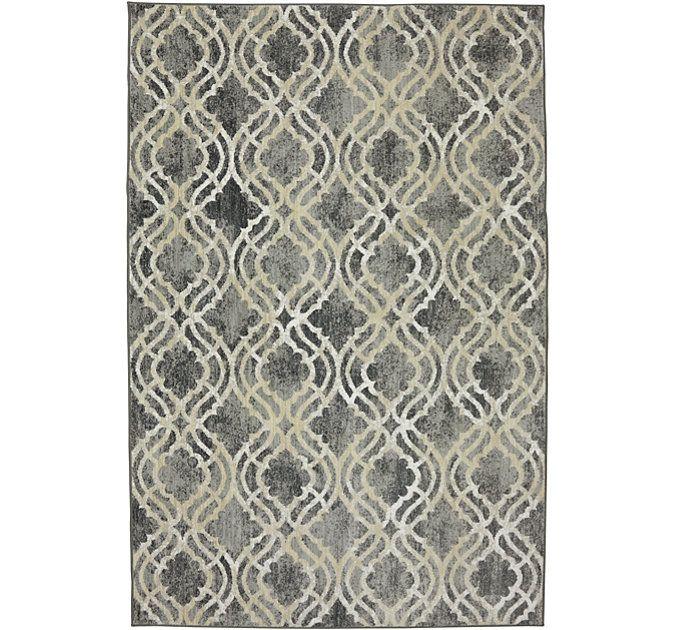 Karastan Potterton Ash Grey 96x1211 For Living Room