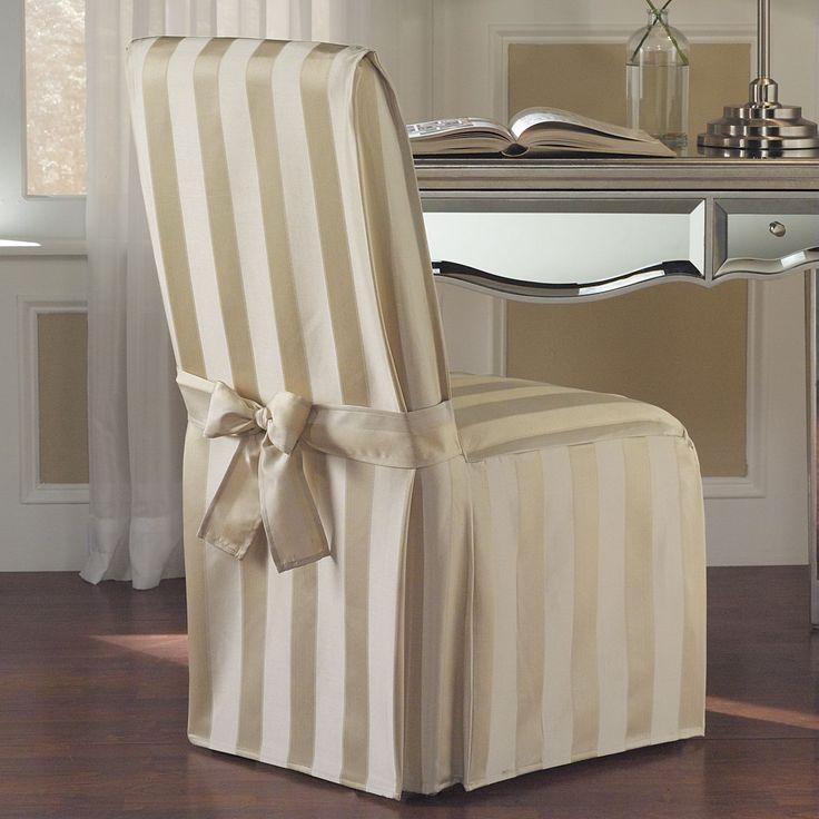 Více Než 25 Nejlepších Nápadů Na Pinterestu Na Téma Dining Chair Awesome Slipcovers For Dining Room Chair Seats Decorating Design