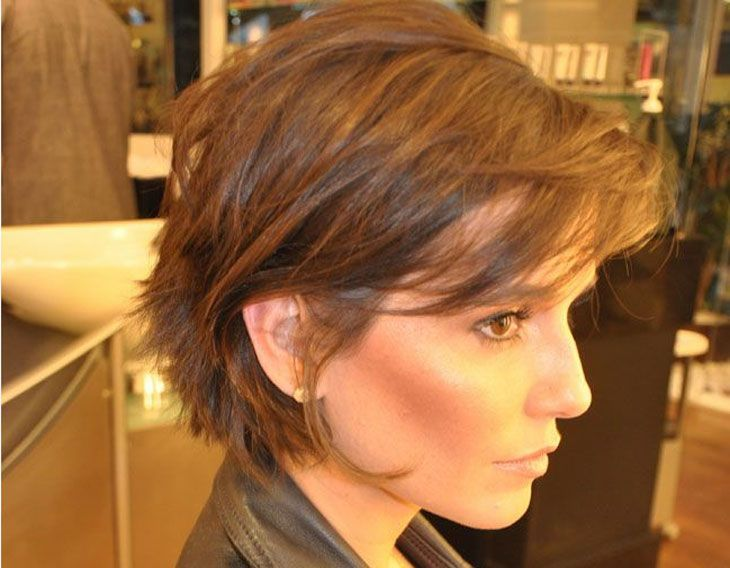 pictures of haircuts with bangs and layers cabelos curtos de 60 ideias para cortar j 225 hair 6304