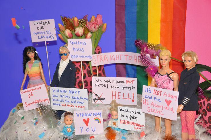 Pure Love #dolls #barbie #ken #love #gay #gaylove #queer #thebible #rainbow #pride #gaypower #tygåö