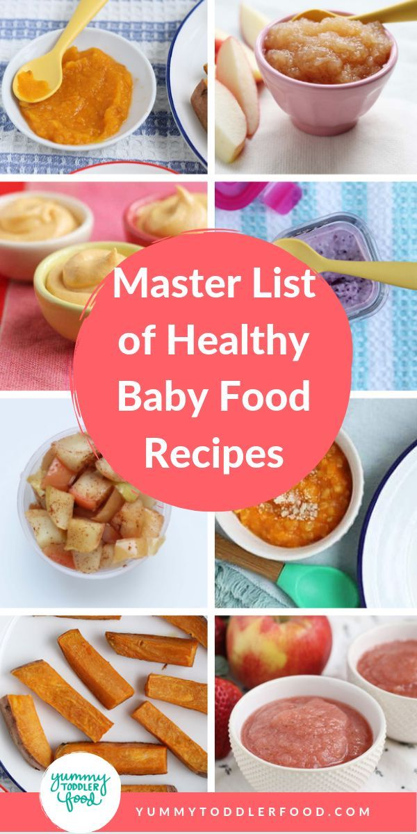 Master List Of Baby Food Recipes With Images Baby Food Recipes Healthy Toddler Meals Organic Baby Food