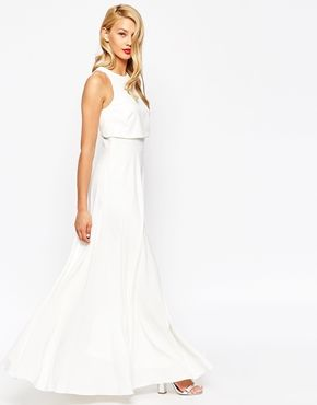 ASOS | ASOS Crop Top Maxi Dress at ASOS