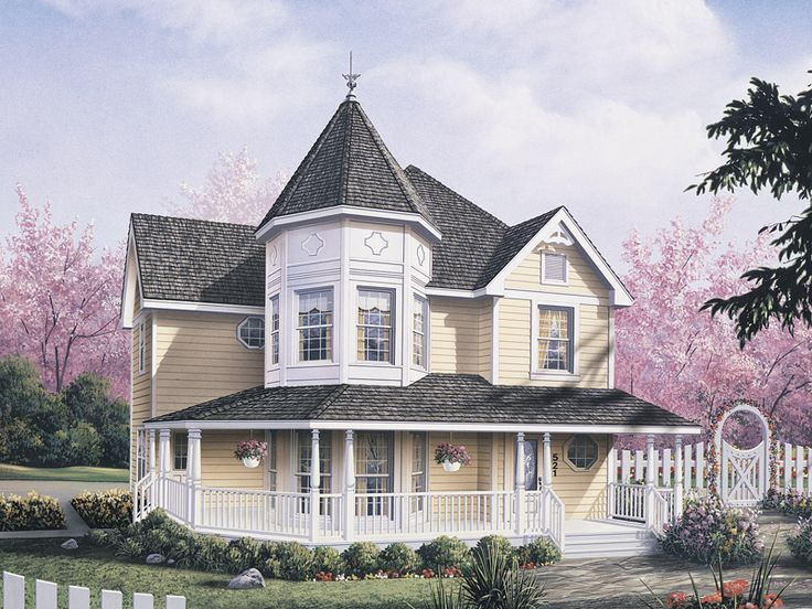lexington victorian home - Steamboat Gothic House Plans