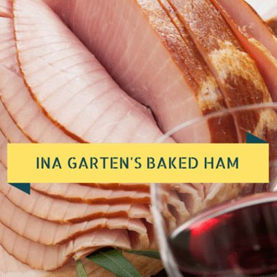 Barefoot Contessa Ina Garten invited Today Show's Tamron Hall into her kitchen to prepare a holiday feast of Baked Virginia Ham and a Winter Slaw Recipe.