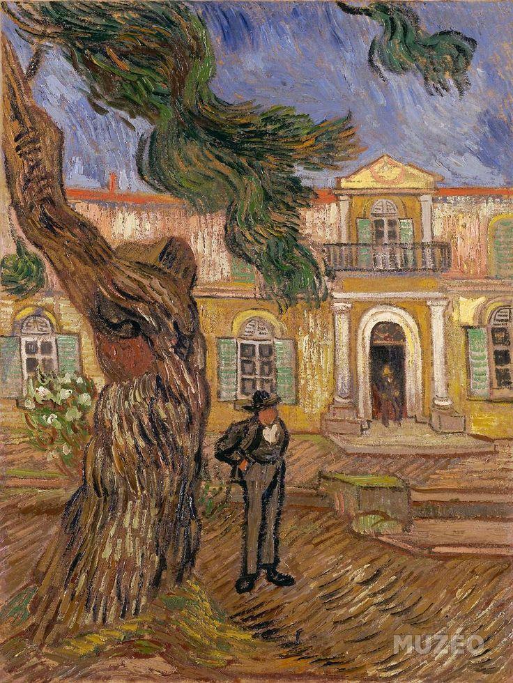 Hôpital Saint-Paul à Saint-Rémy-de-Provence de Van Gogh Vincent