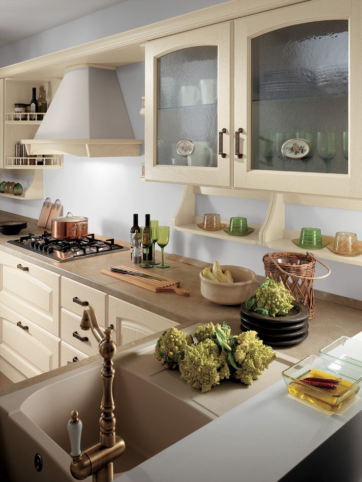 Classic kitchens by Scavolini - Madeleine