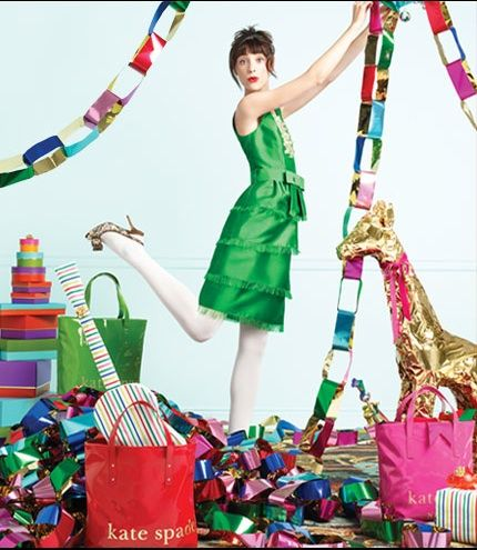 Kate Spade Holiday website