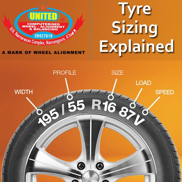 United Tyre Sales Service, can explain how to use a tyre's sidewall to determine tyre size, performance ratings, construction and more. #tyresize #WheelAlignment #WheelBalancing #Tyres