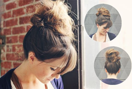 Hairstyles For Short Hair Daily: Brown Hair Extensions Can Make 5 Simple Hairstyles For